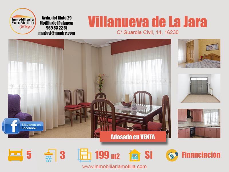 Vivienda en Villanueva de La Jara, ideal para familias