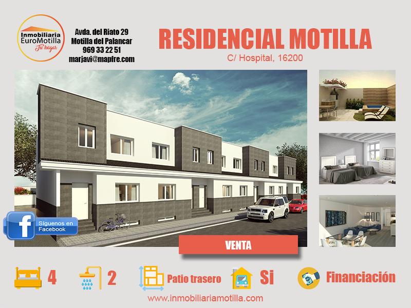 Residencial Motilla: una casa para cada tipo de familia