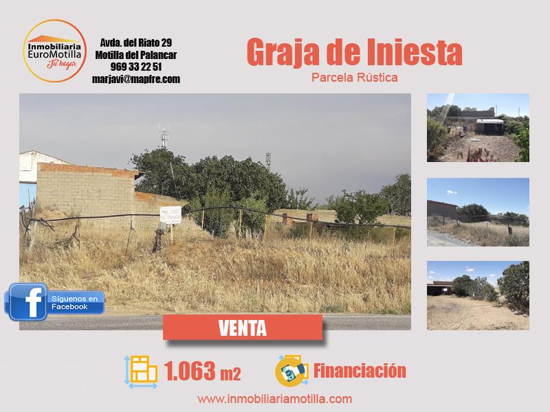 Venta de parcela rústica en Graja de Iniesta