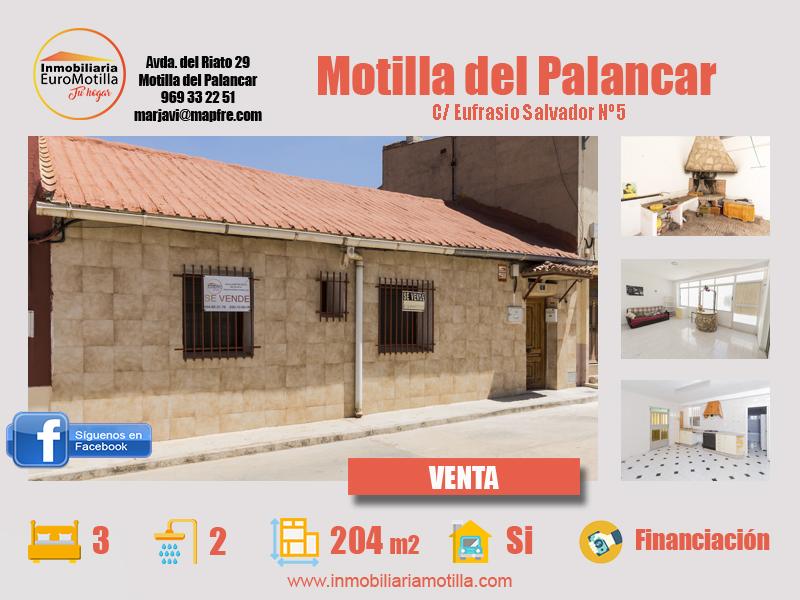 Casa ideal para familias en Motilla del Palancar