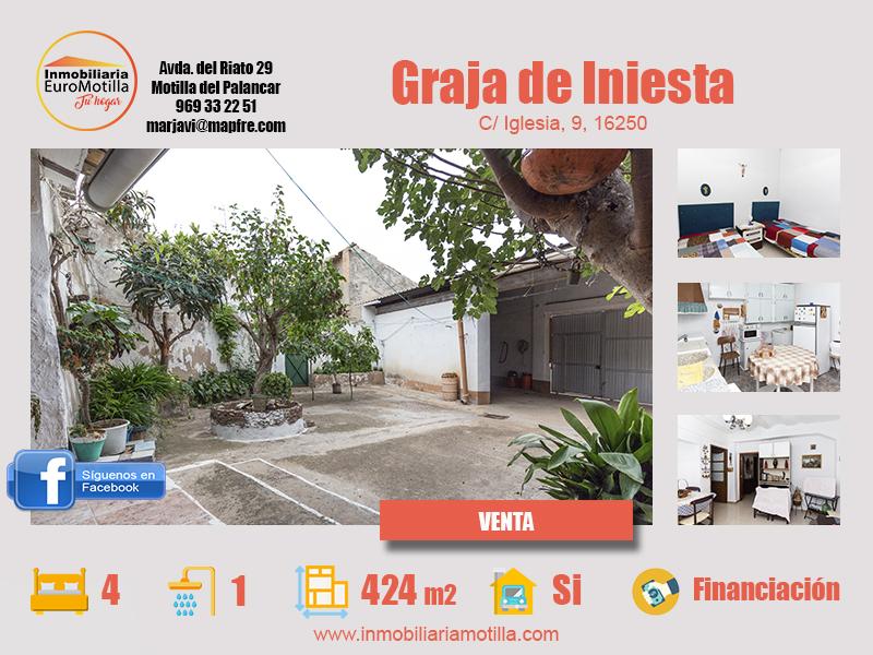 Casa en Graja de Iniesta