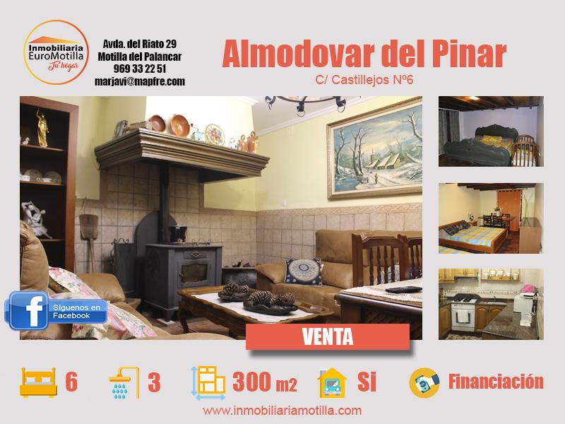 Amplia casa de dos plantas en Almodovar