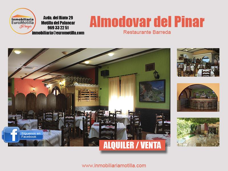 Restaurante en Almodovar del Pinar