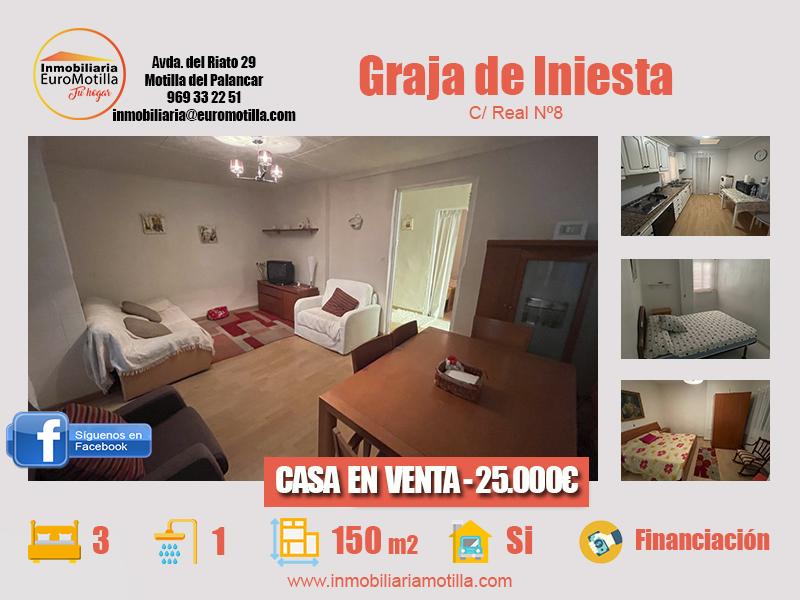 Casa en Graja de Iniesta por 25.000€